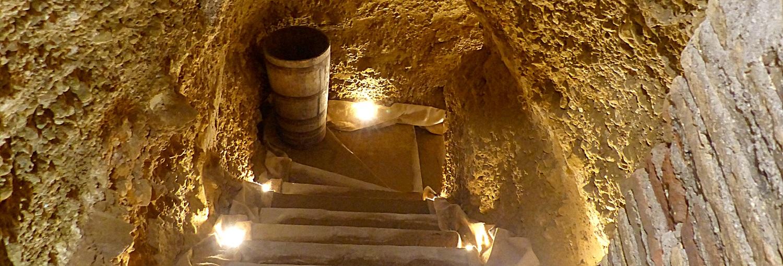 Visita al calado medieval en Labastida